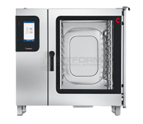Convotherm C4GBT10.20CD- 22 Tray Gas Combi-Steamer Oven – Boiler System – Disappearing Door | Combi Ovens