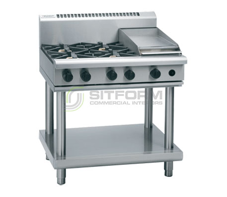 Waldorf 800 Series RN8603G-LS – 900mm Gas Cooktop Leg Stand | Cooktops