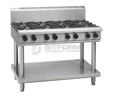 Waldorf 800 Series RN8800G-LS – 1200mm Gas Cooktop Leg Stand | Cooktops