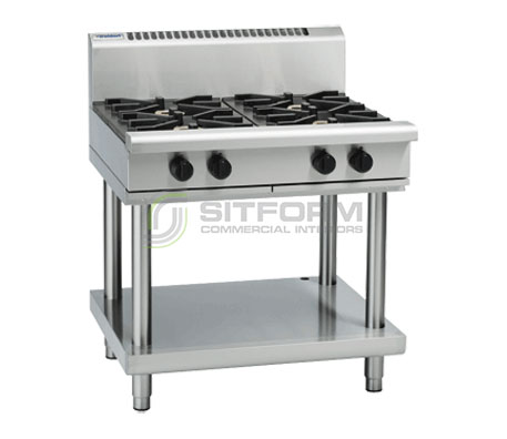 Waldorf 800 Series RN8900G-LS – 900mm Gas Cooktop Leg Stand | Cooktops