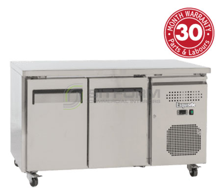 Exquisite USC260H – Solid Door Underbench Chiller – 700mm Depth | Underbench - Storage