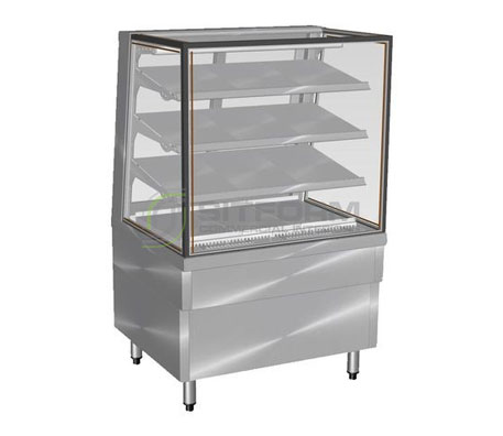 Culinaire CR.FDSQ.F – Refrigerated Food Display 900mm wide | Floor Standing - Cold Displays