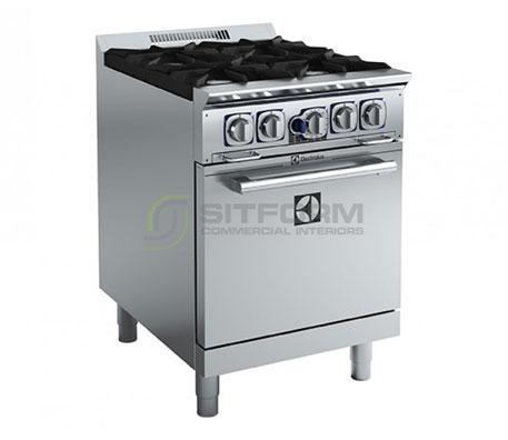 Electrolux Compact Line ACFG24TW – 4 Burner Gas Range | Ranges