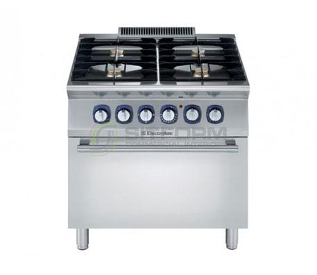Electrolux 700XP E7GCGH4CEA – 4 Burner Gas Range on Electric Oven | Ranges
