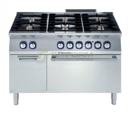 Electrolux 700XP E7GCGL6C2A – 6 Burner Gas Range on Electric Oven with Cupboard | Ranges