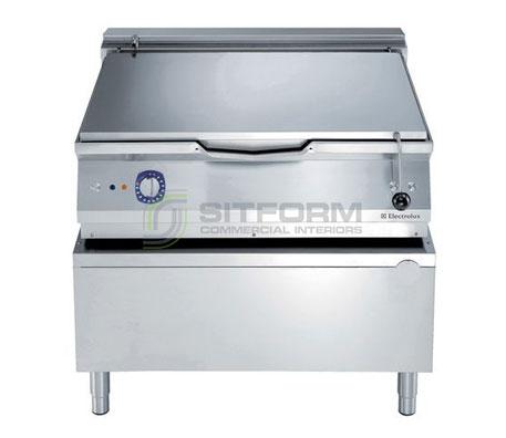 Electrolux 900XP E9BREJDPFM – 100L Electric Tilting Bratt Pan with Duomat bottom | Bratt Pans
