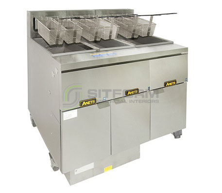 Anets FM314GSCS Filter System | Fryers | Restaurant & Kitchen Equipment