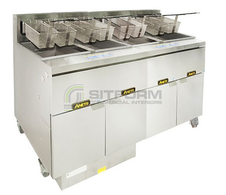 Anets FM414GSCS Filter System | Fryers | Restaurant & Kitchen Equipment