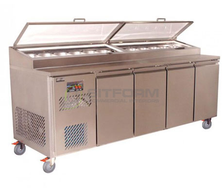 Koldtech – PM.914 Refrigerated Pizza Preparation Unit | Food Preparation