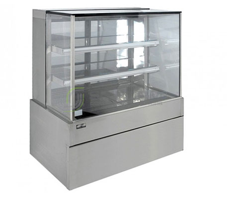 Koldtech SQRCD.9.4T Square Refrigerated Display Cabinet | Floor Standing - Cold Displays