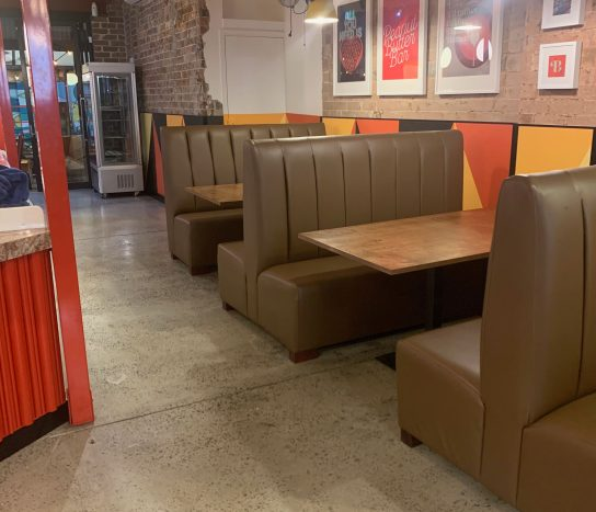 Booth Seating HB9 | Commercial Booth Seats | Commercial Furniture & Fit Outs