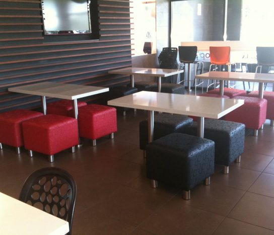 Ottoman SQ1 | Commercial Ottomans | Commercial Furniture & Fit Outs