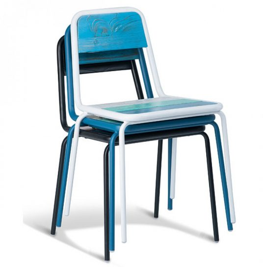 Olivia Chair | Metal & Timber Chairs