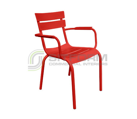 Poppy Armchair | Metal Chairs