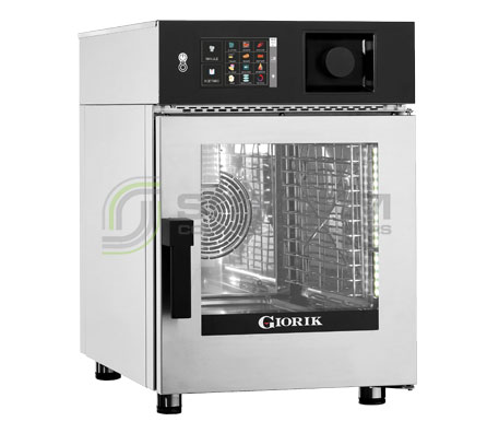 Giorik Kore 6 x 1/1GN Boiler Oven KBG061WT- Gas | Commercial Combi Oven