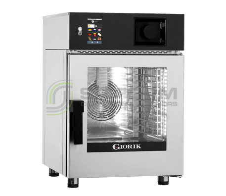 Giorik Mini-Touch 6 x 2/3GN Injection Combi Oven KM0623WT – Electric | Combi Ovens