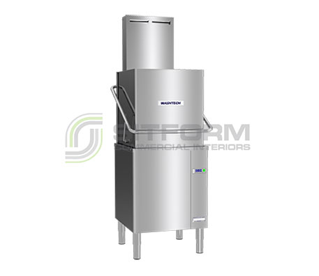 Washtech M2C – Professional Passthrough Dishwasher with Heat Condensing Unit – 500mm Rack | Commercial Equipment
