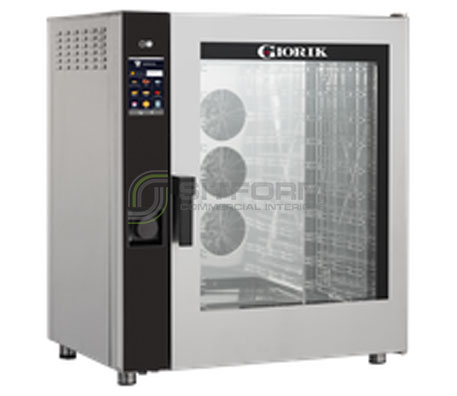 Giorik Movair 10 x 1/1GN Injection Oven MTE10XWRT – Electric | Commercial Combi Oven