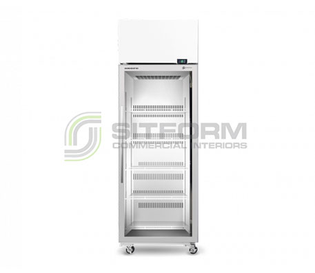 SKOPE  TME ActiveCore TME650N-A *1 Glass Display or Storage Fridge – White | Floor Standing - Cold Displays