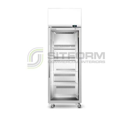 SKOPE  TME ActiveCore TME650N-AC *1 Door Display or Storage Fridge, Lit Sign – White | Floor Standing - Cold Displays