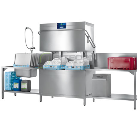 Hobart  Profi AMXT – Dishwasher, double rack | Hood -Type Washer