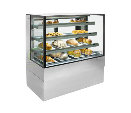 Airex Freestanding Ambient Square Food Display AXA.FDFSSQ | Ambient - Floor Standing Display