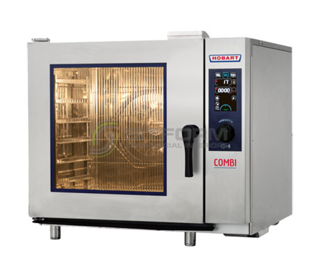 Hobart Convection Steamer Combi HEJ061E (6X1/1GN) | Convection Ovens