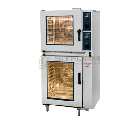 Hobart Convection Steamer Combi HEJ611E (6X1/1GN ON 10X1/GN) | Convection Ovens