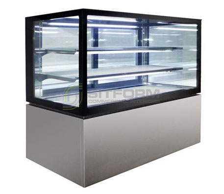 Anvil DSS3860 Salad/ Cake Display 3 Tier 1800mm | Floor Standing - Cold Displays