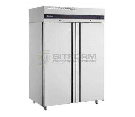 Inomak UFI2140 Double Door Upright Freezer | Floor Standing - Storage Freezers