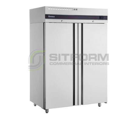 Inomak UFI2140SL Slimline Solid Upright Double Upright Freezer | Floor Standing - Storage Freezers