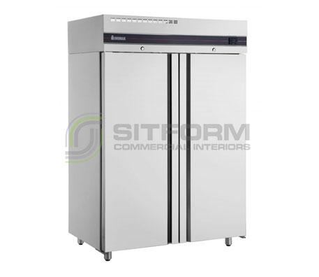 Inomak – UFI2140SL Slimline Solid Upright Double Upright Freezer | Floor Standing - Storage Freezers