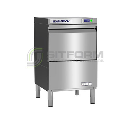 Washtech GM – Professional Undercounter Glasswasher / Dishwasher – 450mm Rack | Dishwashers, Glasswashers