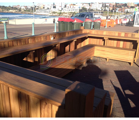 Outdoor Bench Seating – 3166 | Outdoor Bench Seating - Custom Made | Commercial Furniture & Fit Outs