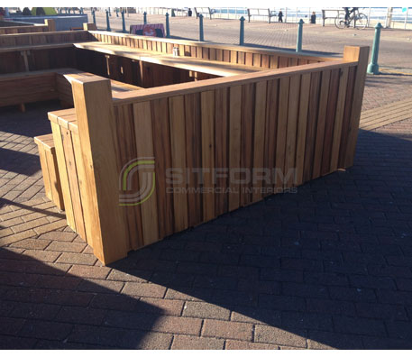Outdoor Bench Seating – 3184 | Outdoor Bench Seating - Custom Made | Commercial Furniture & Fit Outs