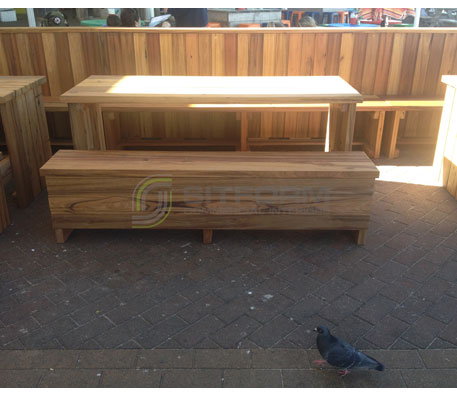Outdoor Bench Seating – 3179 | Outdoor Bench Seating - Custom Made | Commercial Furniture & Fit Outs