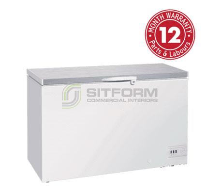 Exquisite- ES550H Stainless Steel Top Storage Chest Freezers | Chest Freezer - Storage