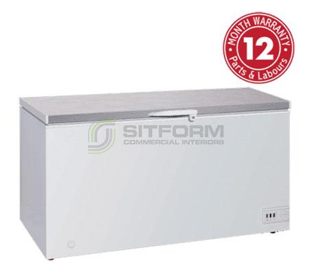 Exquisite- ES605H Stainless Steel Top Storage Chest Freezers | Chest Freezer - Storage