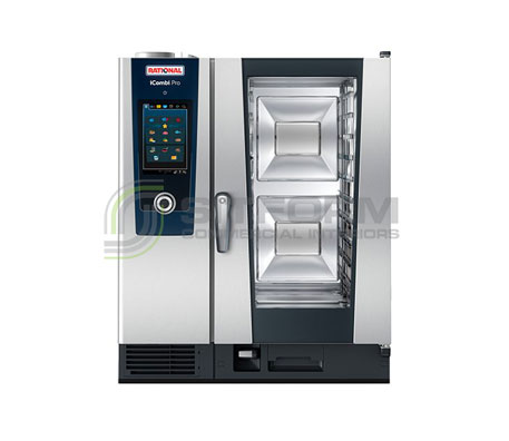 Rational iCombi Pro – ICP101  *10×1/1GN Tray – Electric & Gas | Combi Ovens