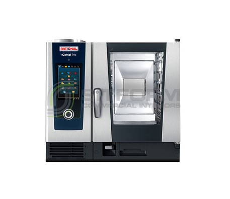 Rational iCombi Pro – ICP61 * 6×1/1 GN Tray – Electric & Gas | Combi Ovens