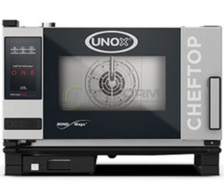 UNOX – CHEFTOP MIND.Maps ONE – 3Tray GN 1/1 (Model XEVC-0311-E1RM) – Electric | Combi Ovens