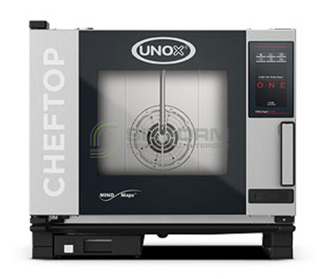 UNOX – CHEFTOP MIND.Maps ONE – 5Tray GN 1/1 (Model XEVC-0511-E1RM) – Electric | Combi Ovens