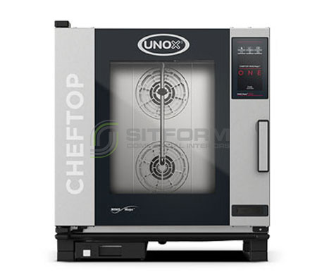 UNOX – CHEFTOP MIND.Maps ONE – 7Tray GN 1/1 (Model XEVC-0711-E1RM) – Electric | Combi Ovens